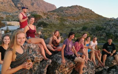 Studentencamp in Bainskloof (Februar 2018)