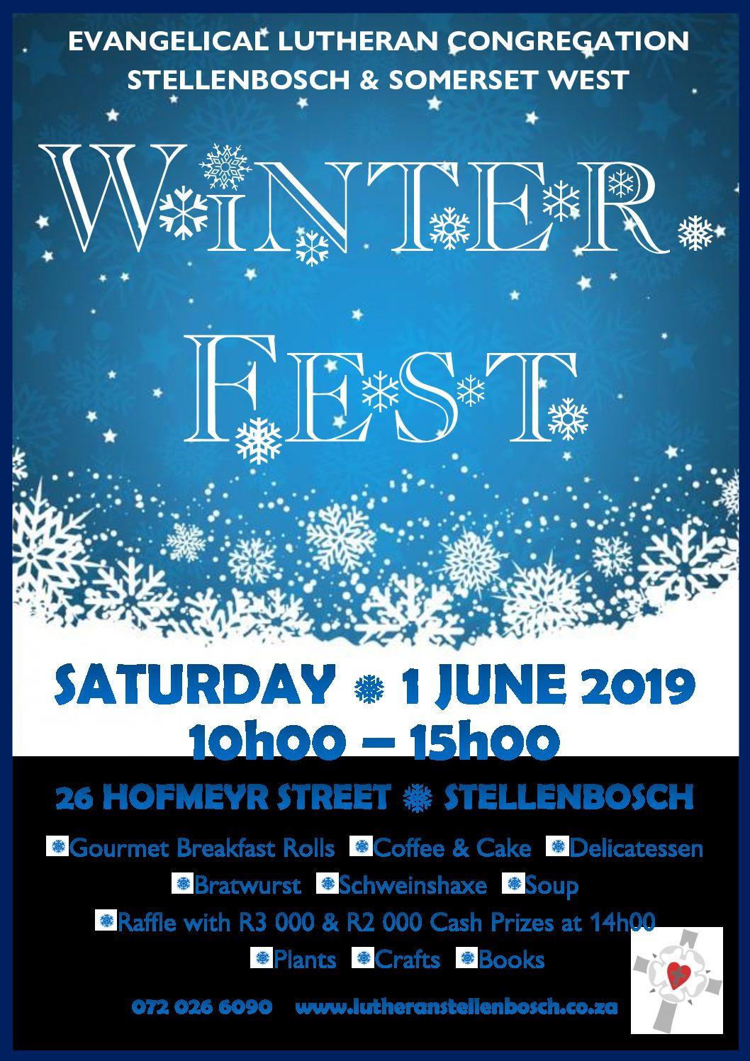 Winterfest – 1. Juni