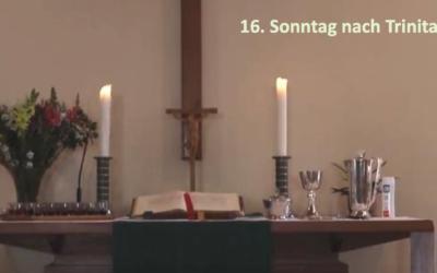 Unser erster Gottesdienst am Sonntag, dem 27. September